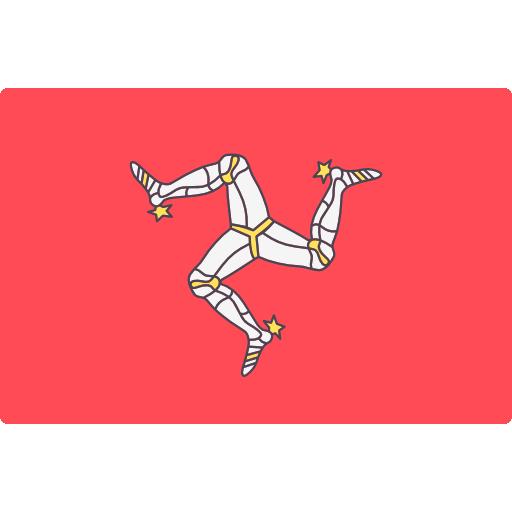 Man-sziget logo